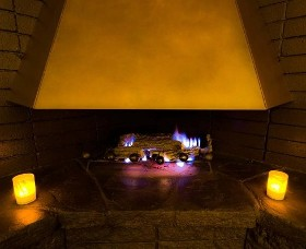 Fireplace - Massage Therapy & Spa Napa Valley